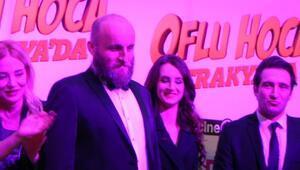 Oflu Hoca Trakya'da filminin galası Lüleburgaz'da yapıldı