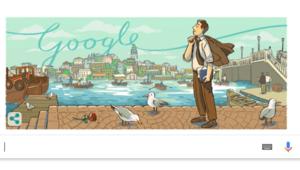 Orhan Veli Kanık Google tarafından unutulmadı ve doodle oldu Orhan Veli Kanık kimdir