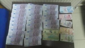 İranlı dolandırıcı, sahte euro ile yakalandı