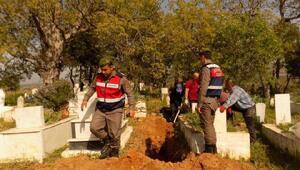 Kuzenler veraset ilamında kardeş çıkınca 6 mezar açıldı