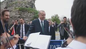 Cumhurbaşkanı Erdoğan 'Osmanpaşa Türküsünü söyledi...