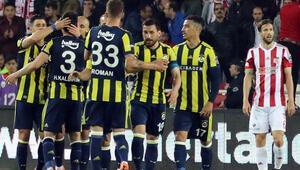 Fenerbahçeye Sivasta altın 3 puan
