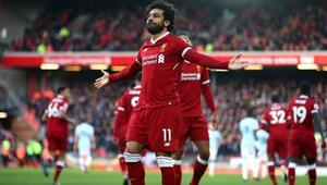 Salah hem Liverpool hem de Premier Lig tarihine geçti
