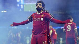 Mohamed Salah hem Liverpool hem de Premier Lig tarihine geçti