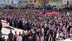 Şehit Uzman Çavuş, Yozgatta gözyaşlarıyla uğurlandı