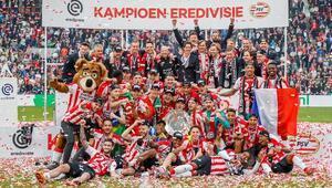PSV Eindhoven, Ajaxı devirip şampiyon oldu