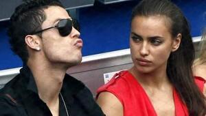 Ronaldo için şok iddia Irina Shayk...