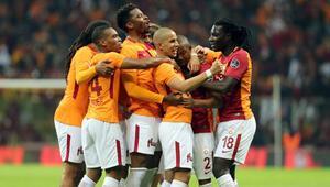 Galatasarayda goller yabancılardan