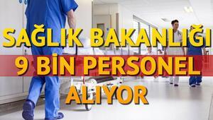 9 bin sağlık personeli alımı başvurusu için son günler Alımlar hangi pozisyona yapılacak