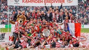 Hollandada şampiyon PSV (ÖZET)