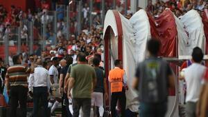 Etoonun Antalyaspor taraftarına cinsel organını gösterdiği iddiası