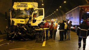 Bolu Dağı Tünelinde kaza: 1 ölü