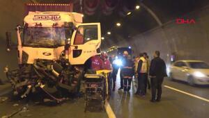 Bolu Dağı Tünelinde kaza
