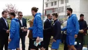 Trabzonspor'da yöneticiler 1461 Trabzon'u ziyaret etti