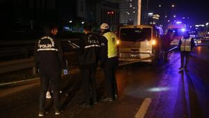 Küçükçekmecede minibüsün çarptığı yaya öldü