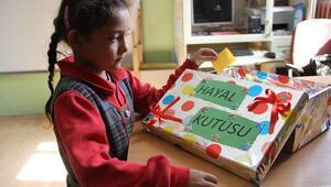 Öğretmenin projesine yurtdışından destek