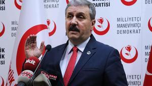 BBP lideri Destici'den erken seçim ve Abdullah Gül açıklaması