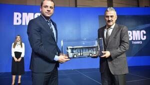 BMC otobüsleri Busworld Türkiyede sergilendi