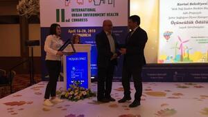Uluslararası Şehir, Çevre ve Sağlık Kongresi'nde Kartal Belediyesi'ne iki ödül birden