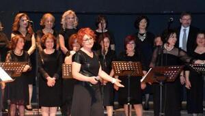 İş kadınları, girişimci kadınlar için konser düzenledi