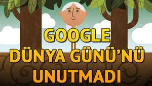 Dünya Günü nedir Googledan 22 Nisan Dünya Gününe özel Doodle