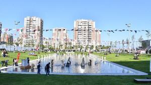 Muzaffer İzgü Parkı açıldı