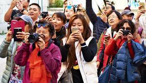 Çinli turistlerin Türkiyede yaptığı alışveriş yüzde 166 arttı