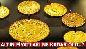 Altın fiyatları en son ne kadar oldu İşte çeyrek altın ve gram altında son durum