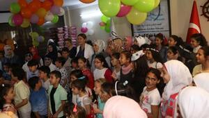Suriyeli çocuklar 23 Nisanı kutladı