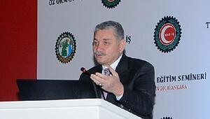 Öz Orman-İş Sendikası Genel Başkanı Aslan: Ürettiğimizden âdil pay almak istiyoruz