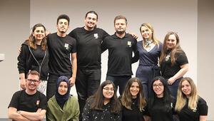 Girişimciliğe ilgi duyan üniversite öğrencileri buluştu