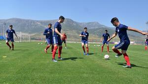 Altınorduda Adana Demirspor maçı hazırlıkları devam ediyor
