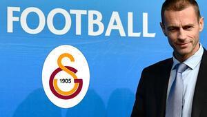 Son dakika: UEFA Başkanı Ceferinden Galatasaray açıklaması
