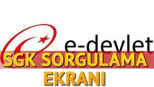 SGK hizmet dökümü sorgulama nasıl yapılır - E-Devlet SGK hizmet dökümü sorgulama sayfası