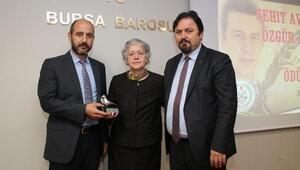 Şehit Avukat Özgür Aksoy şiir yarışmasında dereceye girenlere ödülleri verildi