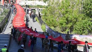 Trabzon'da 57'inci Alay vefa yürüyüşü