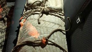 Roma dönemine ait heykel ele geçirildi
