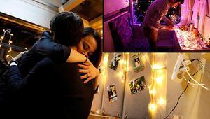Reuters bu fotoğrafları geçti... Doğu ekspresi romantizmi