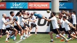 Galatasarayda derbi hazırlıkları devam etti
