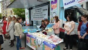 Kırklareli'nde, gezici kanser tarama aracı  hizmet veriyor