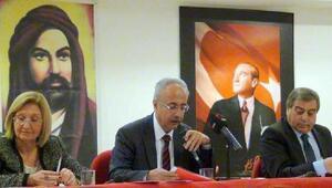 Kayseri Hacı Bektaşi Derneği'nde, Genç yeniden başkan oldu