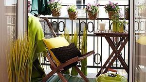 Küçük balkonlar için 10 dekorasyon fikri