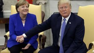 ABD Başkanı Trump, Merkel ile görüştü