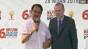 Cumhurbaşkanı Erdoğan ilk mitingi İzmirde yapıyor... Tatlıses sürprizi