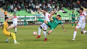 Akın Çorap Giresunspor-Samsunspor: 2-1