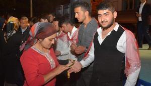 Asker adaylarına uğurlama töreni