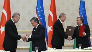 Peş peşe imzalar atıldı... Cumhurbaşkanı Erdoğandan flaş açıklamalar