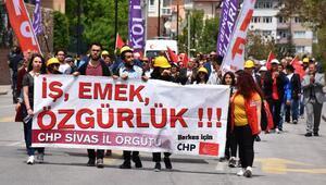 Sivas ve Tokatta 1 Mayıs coşkusu