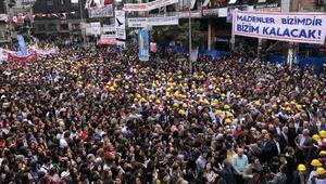 Zonguldakta 1 Mayıs coşkusu