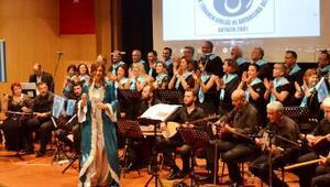 Kerkük türküleri Antalyada seslendirildi
